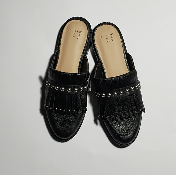 5d4b1956 a new day Shoes | Womens Karoline Backless Loafer Mules Size 65 ...
